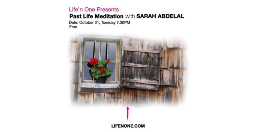 FREE Past Life Meditation With Sarah Abdelal