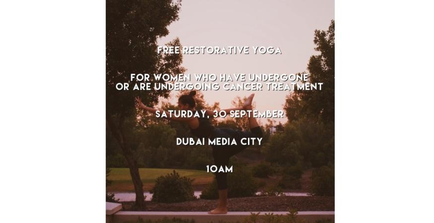 FREE Restorative Yoga