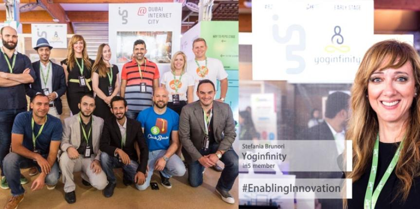 Yoginfinity showcases its Online Yoga and Meditation web portal at Step Conference 2017