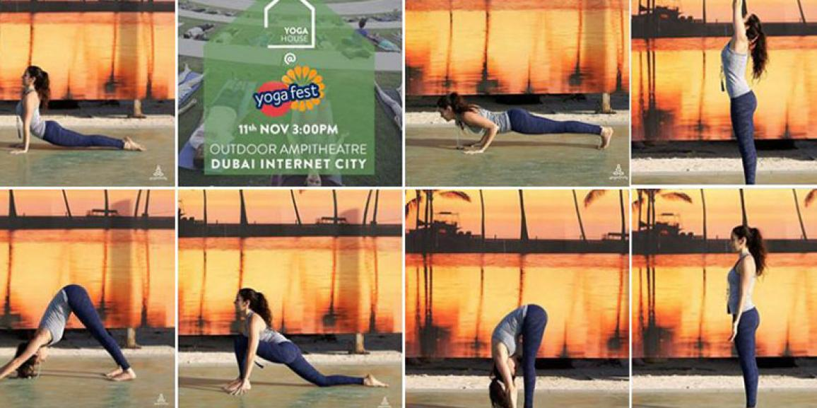 Yoginfinity Co-Hosts the Yogafest Surya-In-The-Sun Instagram Competition