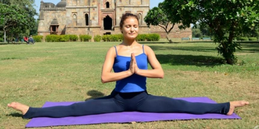 Second Edition of 'Yoga Championship' in Cairo, Egypt