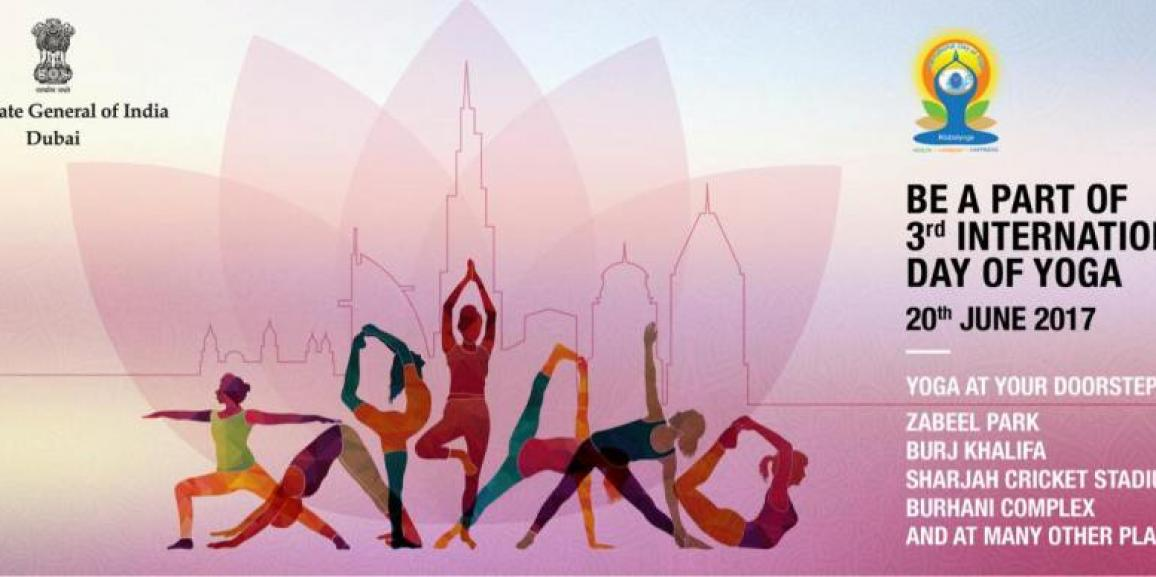 Yoginfinity, Official Online Supporter Of 3rd International Day Of Yoga Dubai